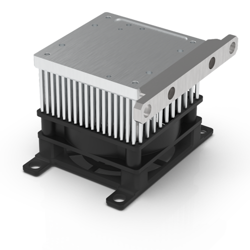 Large air-cooled heatsink