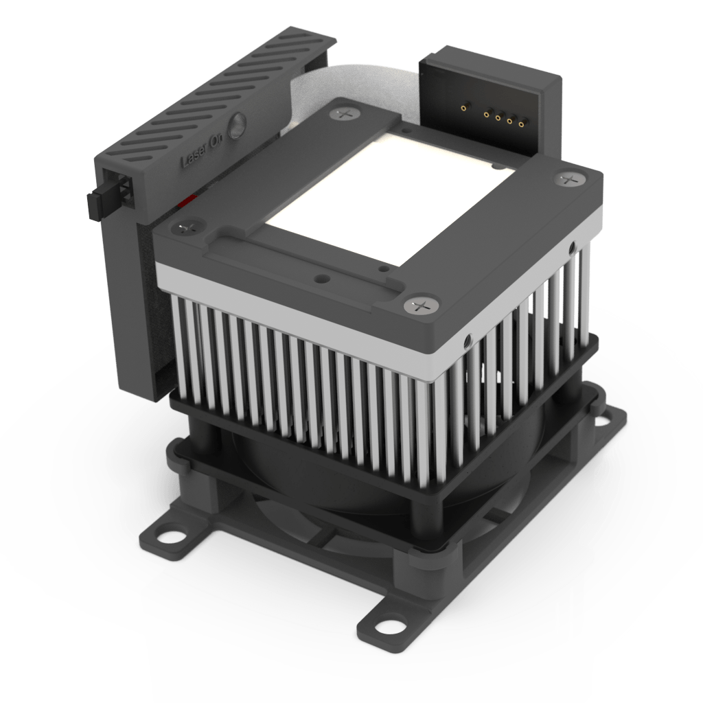 Air Cooled Heatsink With TEC