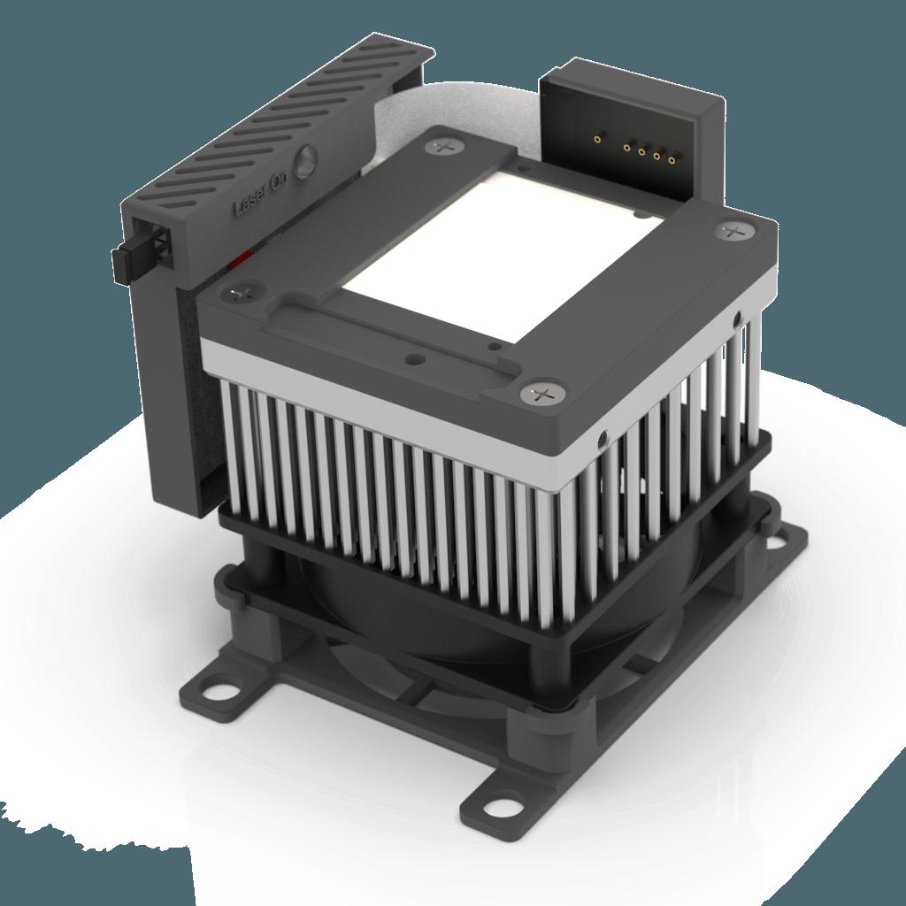 Air Cooled Heatsink With TEC